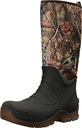 Men's Huntsman (Mossy Oak Country) Boots & Toe warmers Bundle
